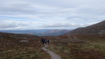 Walking out of a chilly Coire